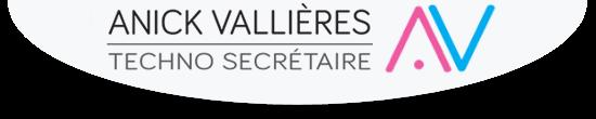 Logo - Anick Vallières - Techno-Secrétaire
