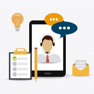 Customer digital design, vector illustration eps 10.